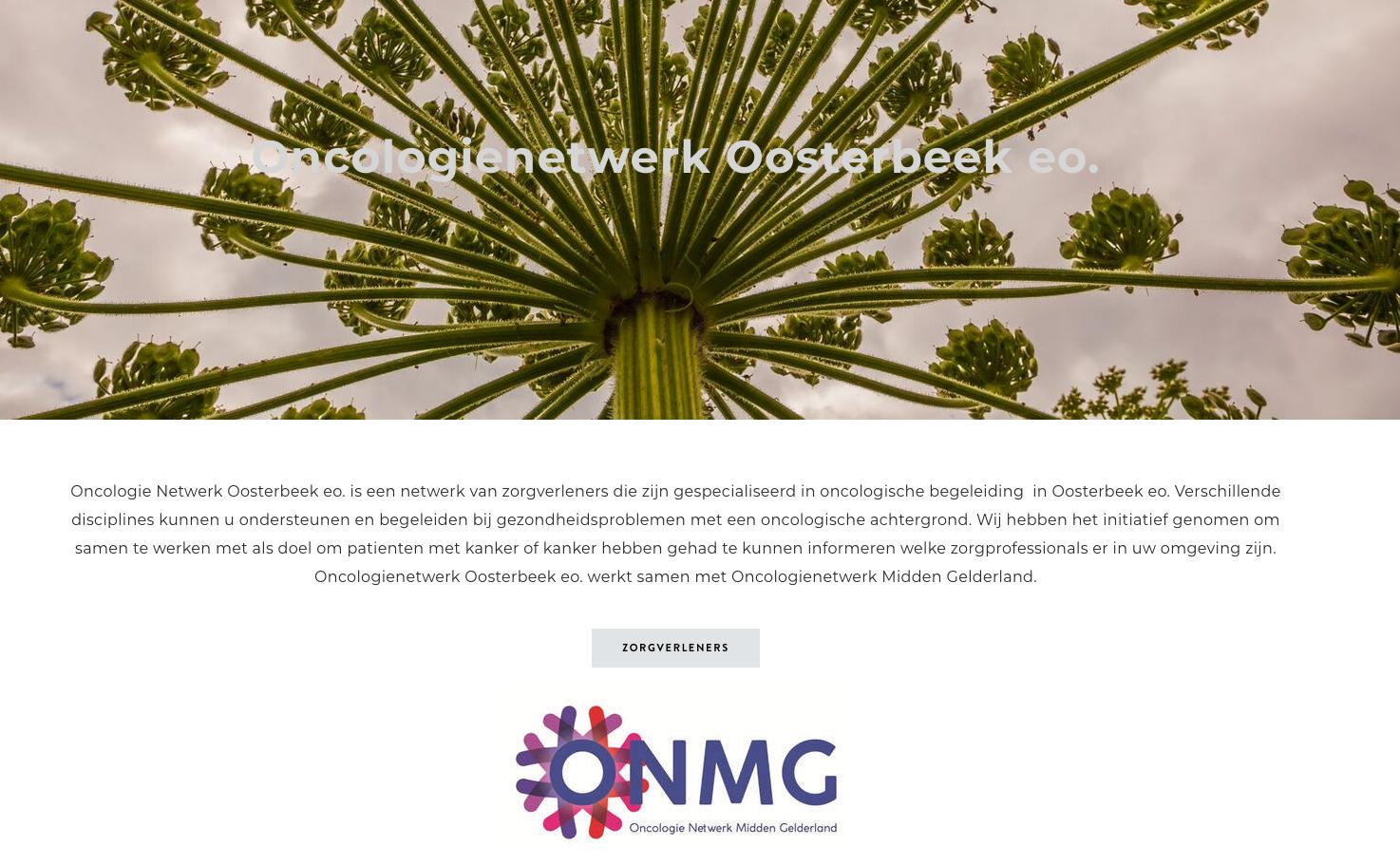 Update oncologie netwerk Oosterbeek (Rina Rijkenberg) - De Huidtherapeuten